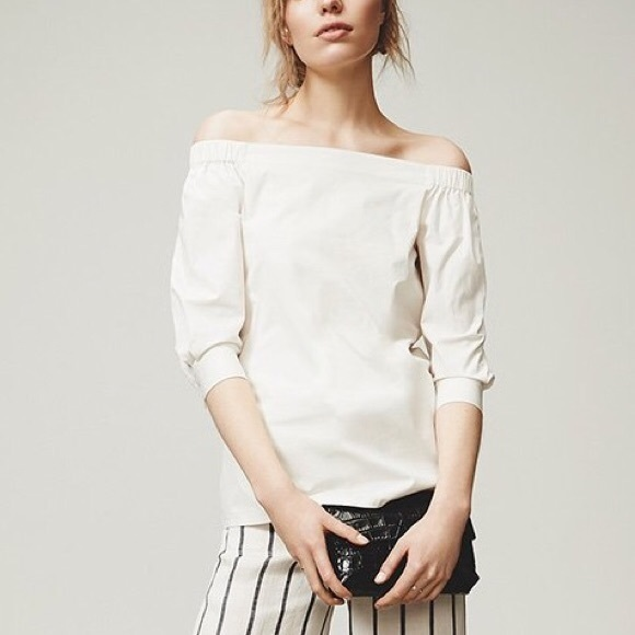 Theory Tops - NWT Joscla Off the Shoulder Top Blouse